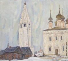 Тутунов А. А. Суздаль. Александровский мост
