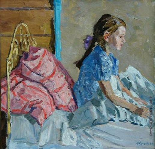 Тутунов А. А. Девочка в кровати