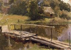 Тутунов С. А. Мостик на речке