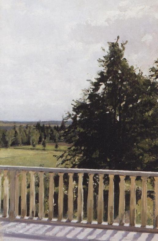Серов В. А. Балкон