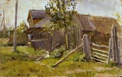 Тутунов С. А. Деревня Малый городок