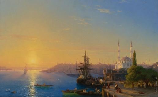Айвазовский И. К. Вид на Константинополь и Босфор