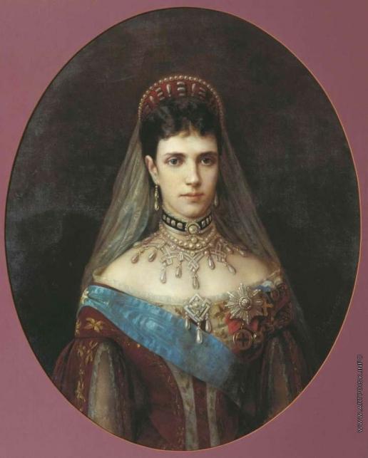 Худояров В. П. Портрет императрицы Марии Федоровны