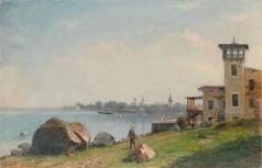 Худояров В. П. На берегу залива