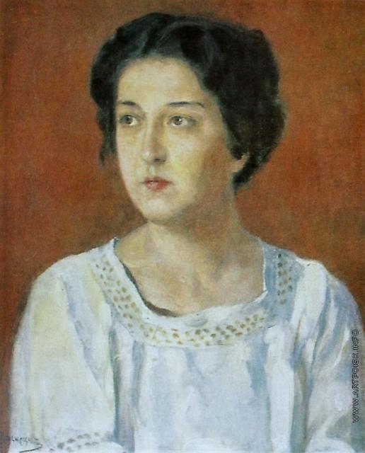 Васнецов В. М. Женский портрет