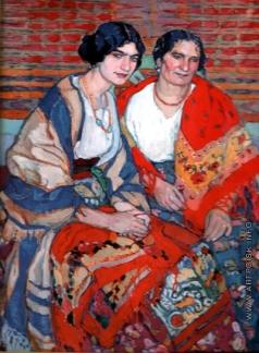 Киселева Е. А. Мать и дочь