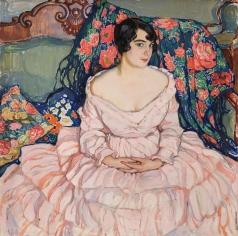 Киселева Е. А. Портрет дамы (портрет Любови Бродской)