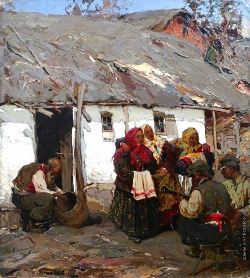 Колесников С. Ф. Деревенские танцы