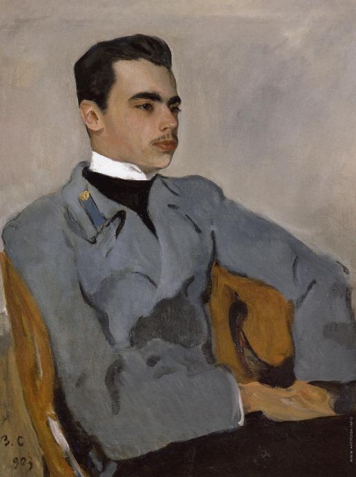 Серов В. А. Портрет графа Н.Ф. Сумарокова-Эльстон