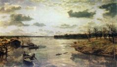 Киселев А. А. На берегу реки