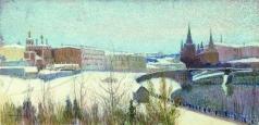 Переплетчиков В. В. Вид Москвы
