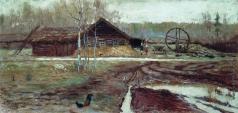 Переплетчиков В. В. Осень в деревне