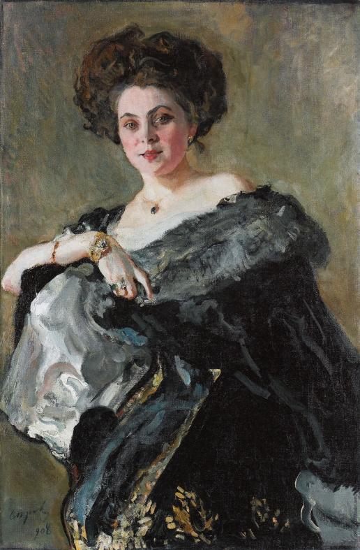 Серов В. А. Портрет Е.С. Морозовой