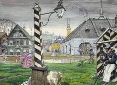 Добужинский М. В. ровинция 1830-х годов