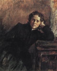 Серов В. А. У окна. Портрет О.Ф. Трубниковой