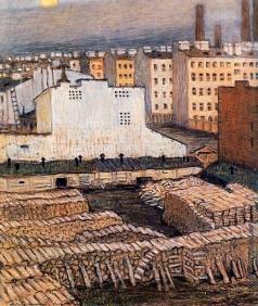 Добужинский М. В. Город