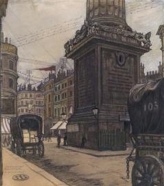 Добужинский М. В. Лондон. Монумент
