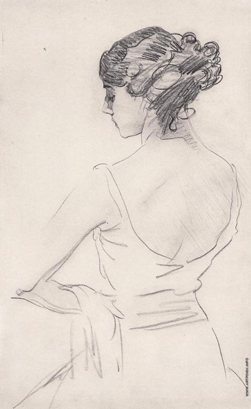 Серов В. А. Портрет балерины Т.П. Карсавиной