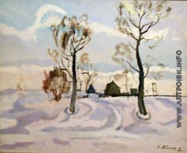 Яблоков Р. А. Зимний пейзаж