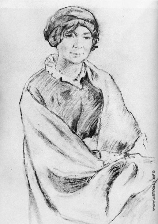 Добужинский М. В. Портрет А.К. Бенуа, жены художника А.Н. Бенуа