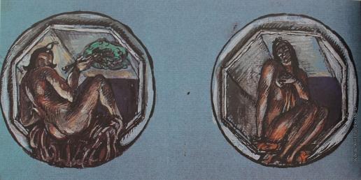 Добужинский М. В. Медальоны