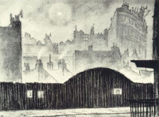 Добужинский М. В. Лондон. Туман