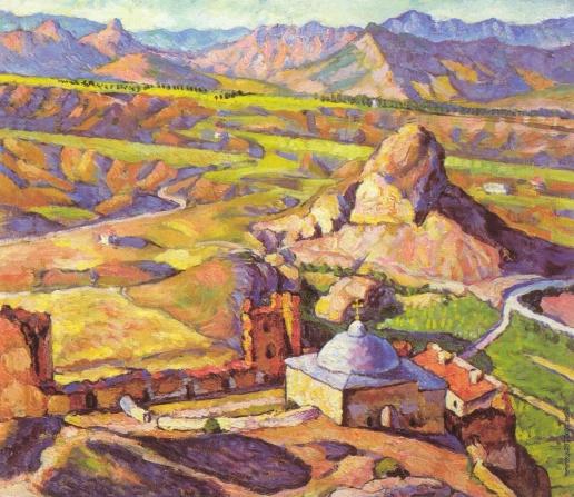Машков И. И. Вид Генуэзской крепости в Судаке