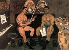 Машков И. И. Автопортрет и портрет Петра Кончаловского