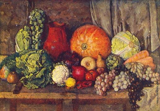 Машков И. И. Овощи