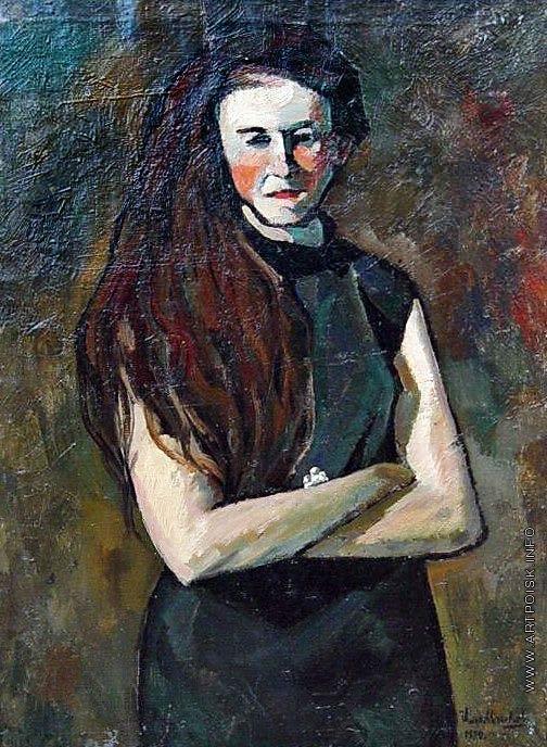 Машков И. И. Портрет писательницы Emma Ribarik