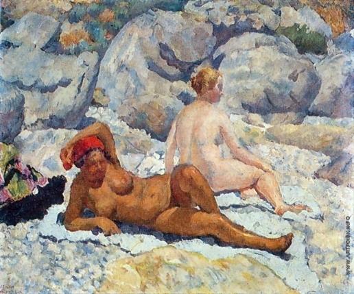 Машков И. И. Гурзуф. Женский пляж