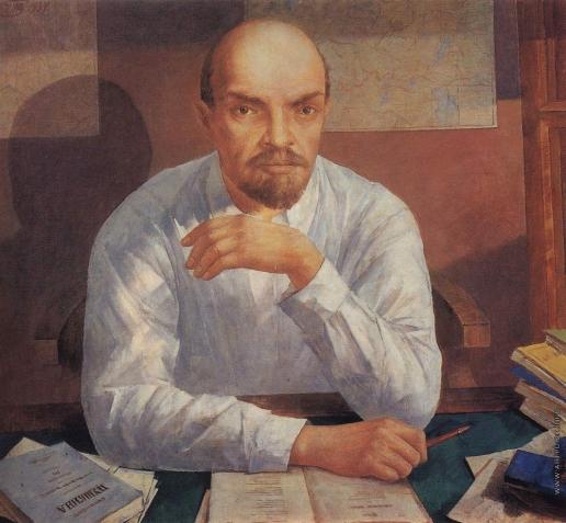 Петров-Водкин К. С. Портрет В.И.Ленина