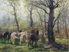 Авилов М. И. Партизаны в белорусских лесах