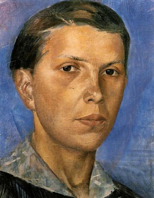 Петров-Водкин К. С. Портрет Н.А. (Женский портрет)