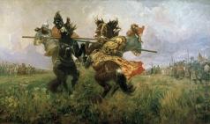 Авилов М. И. Поединок на Куликовом поле