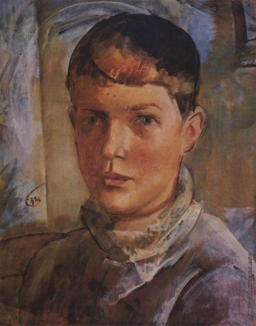 Петров-Водкин К. С. Дочь художника