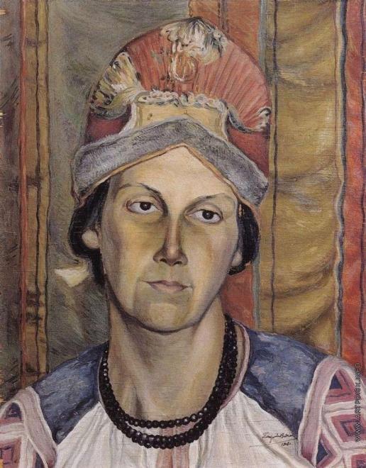 Петров-Водкин К. С. Женский портрет (Портрет неизвестной)