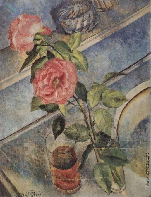 Петров-Водкин К. С. Натюрморт с розами