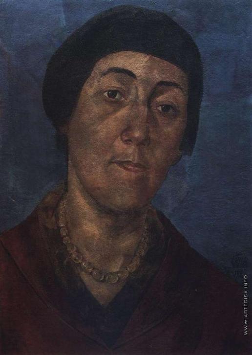 Петров-Водкин К. С. Портрет М.Ф.Петровой-Водкиной, жены художника