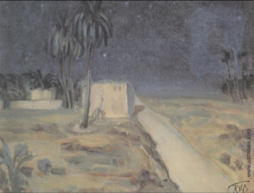 Петров-Водкин К. С. Пустыня ночью