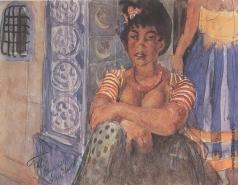 Петров-Водкин К. С. Алжирская женщина