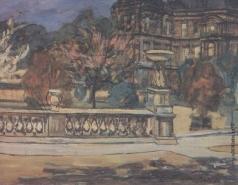 Петров-Водкин К. С. Люксембургский сад