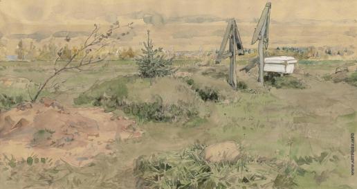 Якунчикова М. В. Деревенское кладбище