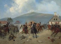 Виллевальде А. Б. Скирмиш во время венгерской революции