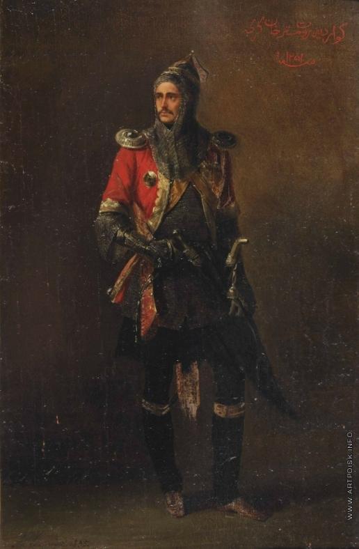 Ладюрнер А. И. Офицер гвардии Кавказско-горского эскадрона