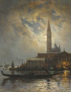 Боголюбов А. П. Венеция в лунном свете