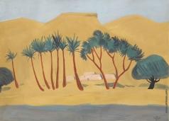 Сарьян М. С. Оазис в пустыне
