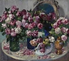 Герасимов А. М. Натюрморт с розами