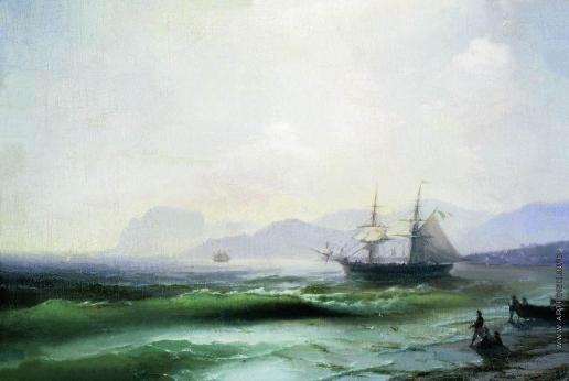 Айвазовский И. К. Беспокойное море