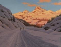 Шультце И. Ф. На лыжах. Верхняя Савойя